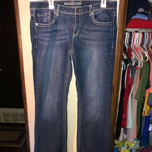 Maurices Long Bootcut Jeans